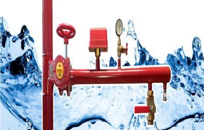 شیر تست و تخلیه در سیستم اطفاء حریق آبی