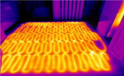 کاربرد ترموگرافی در پایش سیستم گرمایش ساختمان