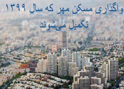 تکمیل و تحویل ۱۴ هزار واحد مسکن مهر تا پایان فروردین ماه سال 1399